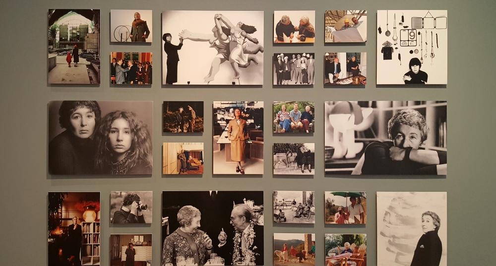 Fotografie vita privata e lavoro di Gae Aulenti