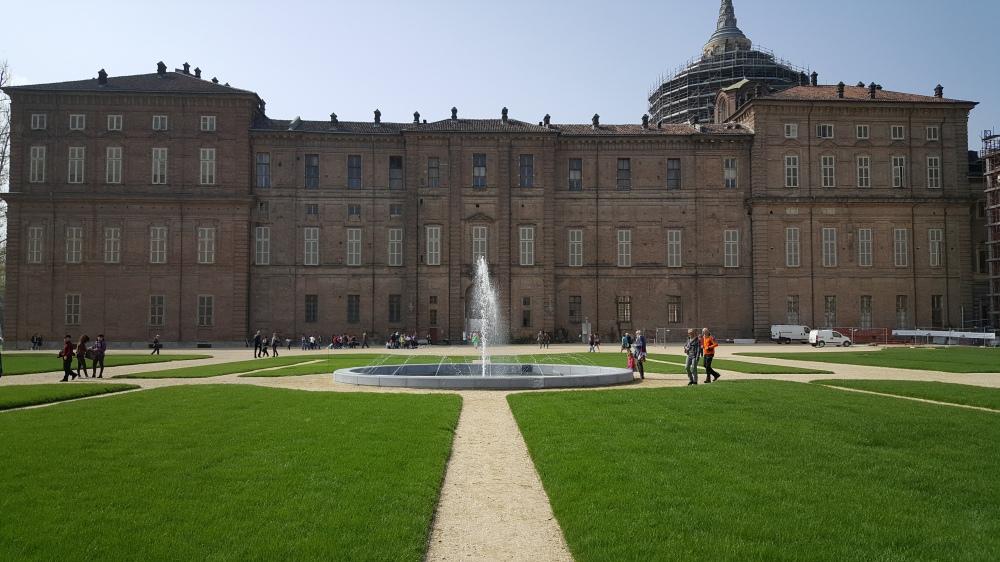 Palazzo Reale di Torino dai Giardini del Duca