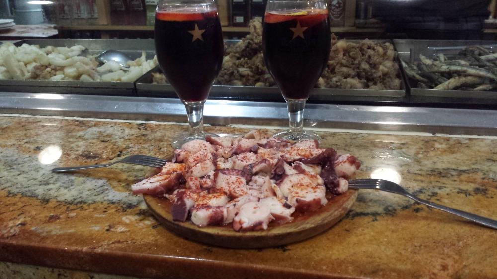 Ristorante Bar Celta Pulpo a la gallega Barcellona Spagna