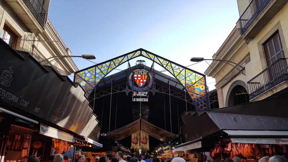 La Boqueria Mercato Barcellona