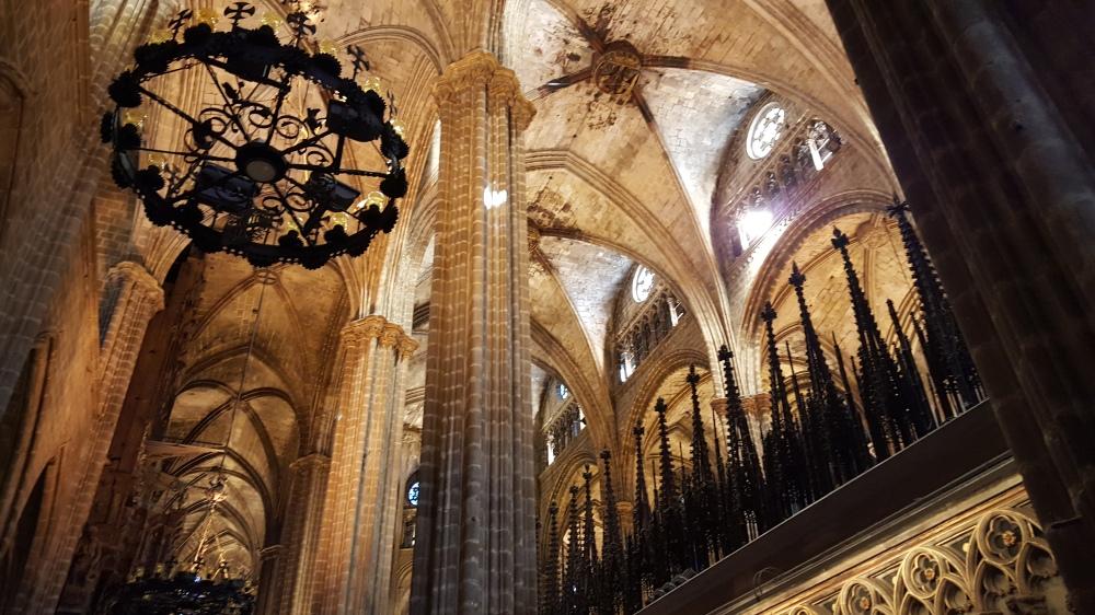 Cattedrale de la Santa Creu Barcellona Spagna