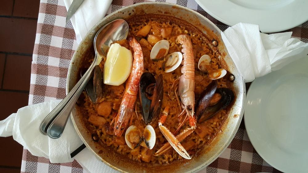 Ristorante Taverna El Glop Paella Barcellona Spagna