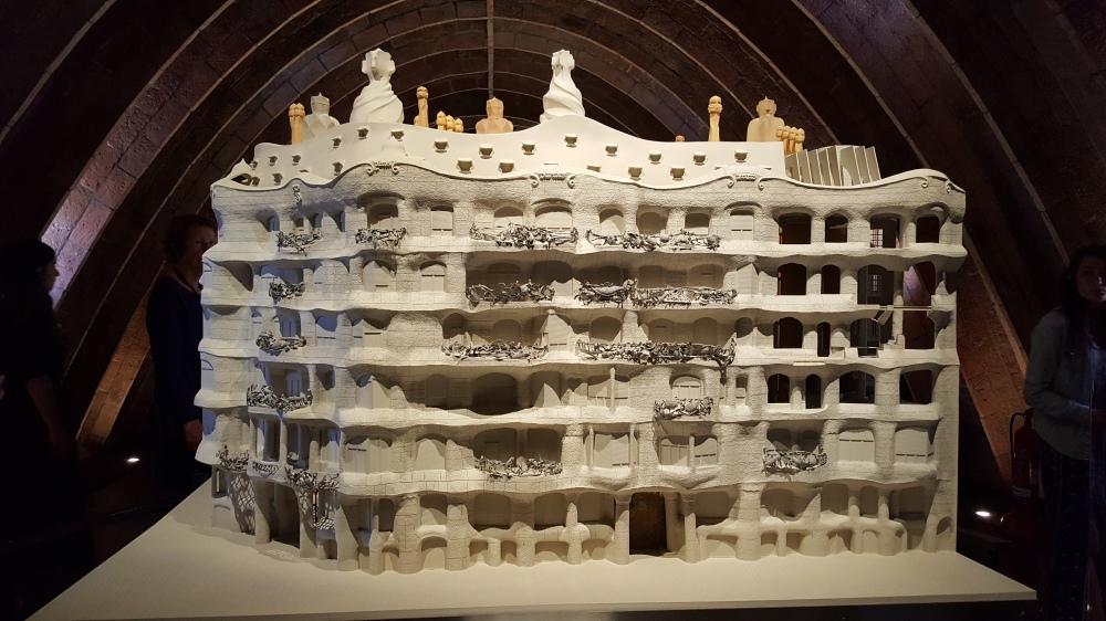 Casa Mila plastico Barcellona