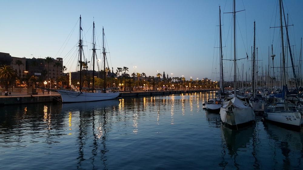 Porto di Barcellona Spagna