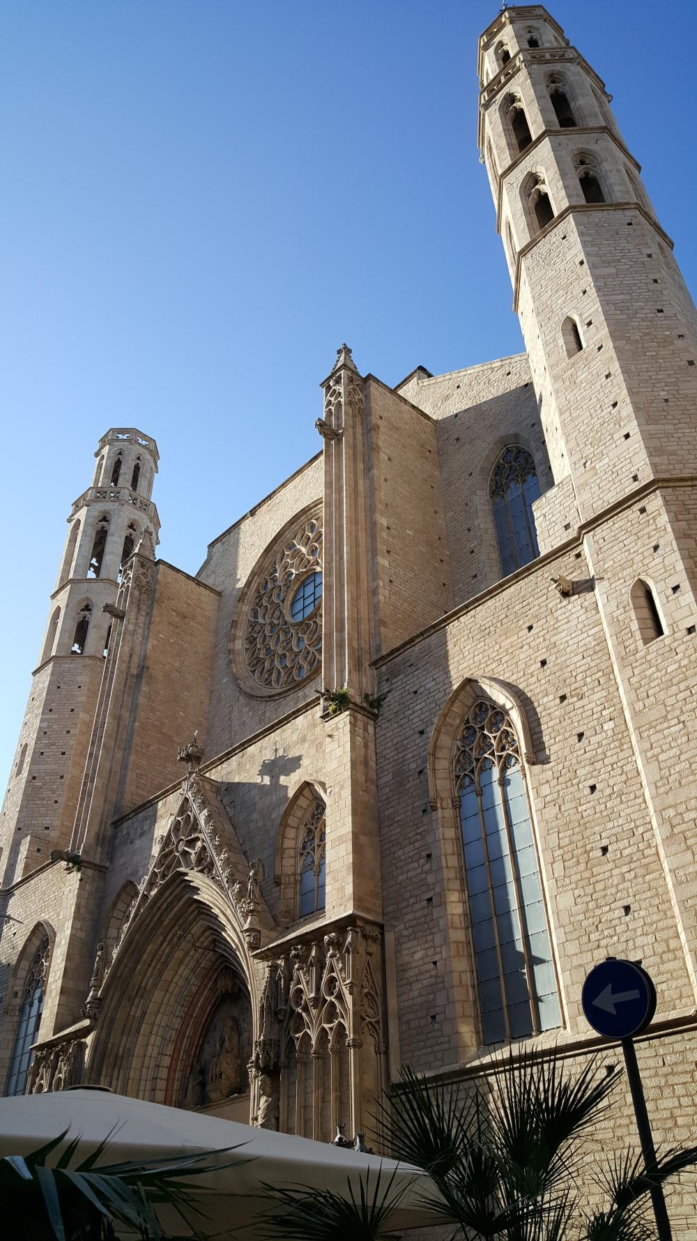 Chiesa di Santa Maria del Mar Barcellona Spagna