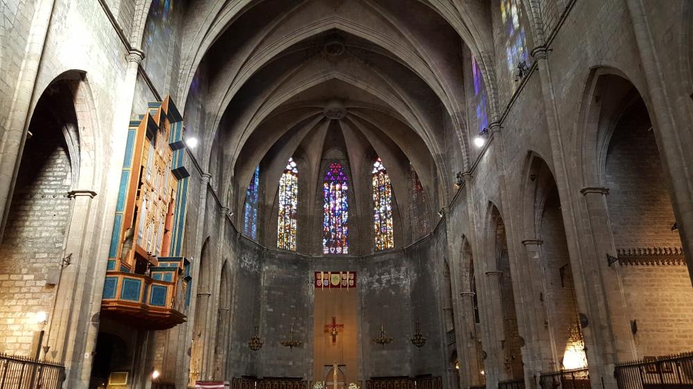 Chiesa di Santa Maria del Pi Barcellona Spagna