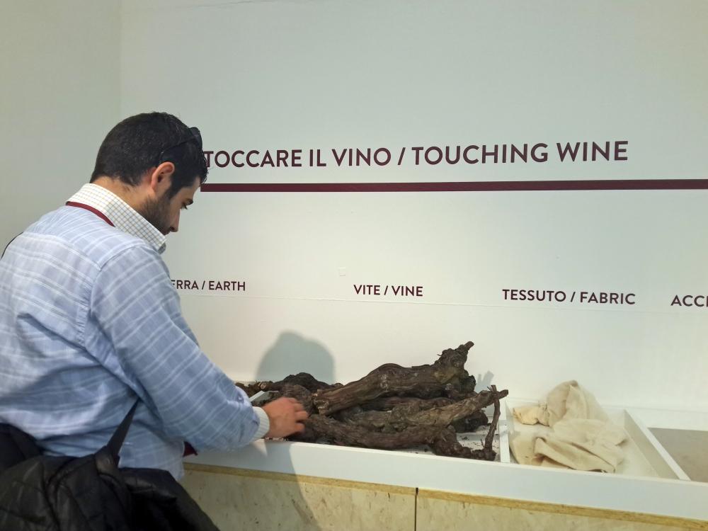 Percorso sensoriale Fiera Vini Vinum Alba Langhe Piemonte