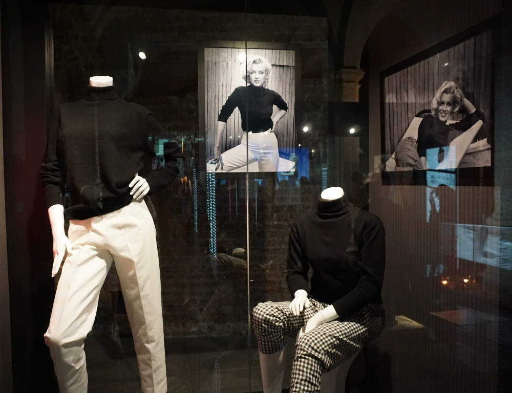 Abiti e fotografie Marilyn Monroe Mostra Palazzo Madama Torino