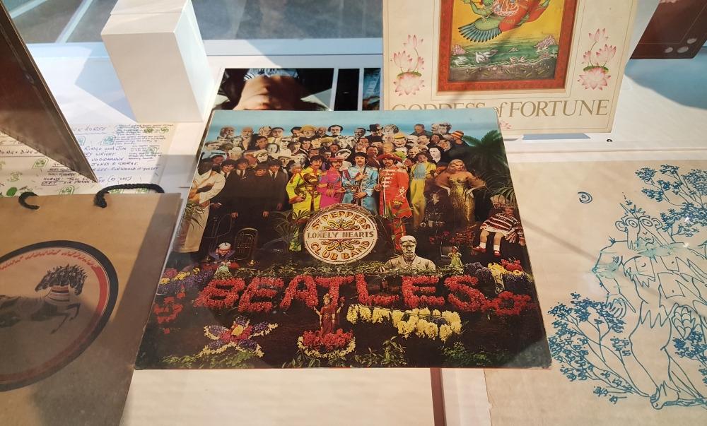 Album Beatles Sgt. Pepper's Lonely Hearts Club Band mostra MAO Torino