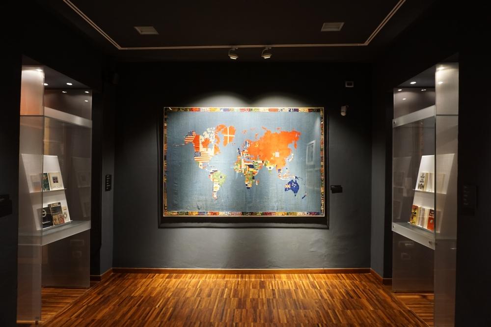 Alighiero Boetti Mappa del Mondo Mostra Beatles Museo Arte Orientale Torino