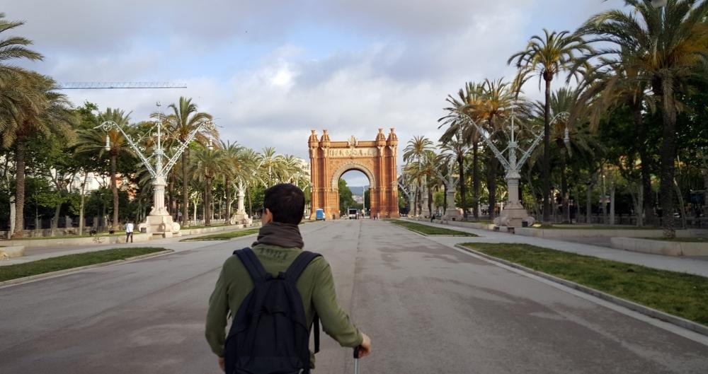 Arc de Triomf Barcellona Spagna