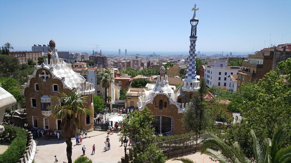 Casa del Custode Park Guell Barcellona Spagna
