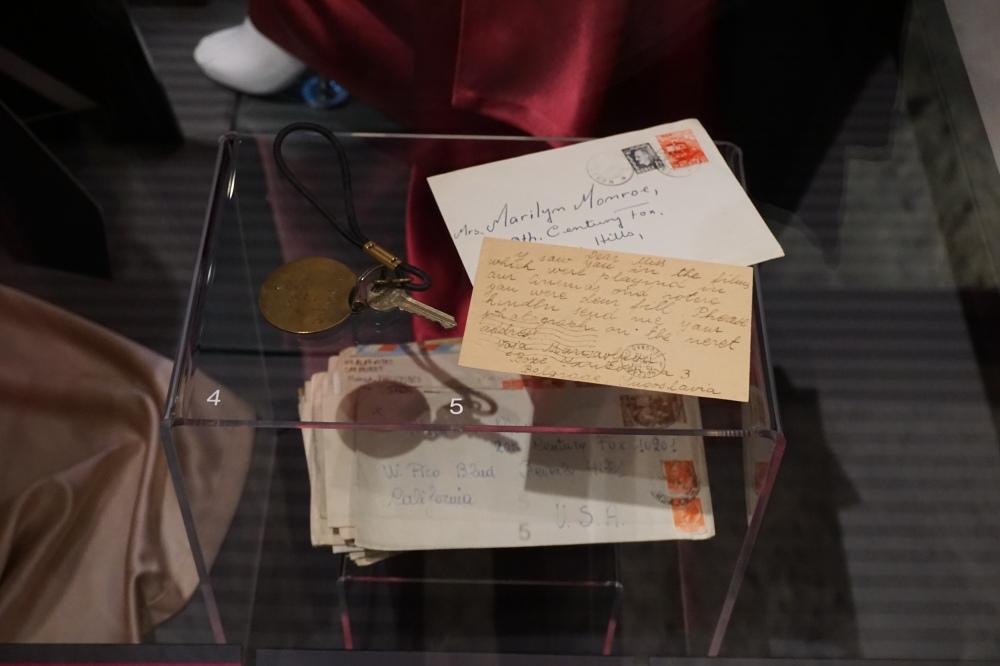 Lettere e cartoline di Marilyn Monroe Mostra Palazzo Madama