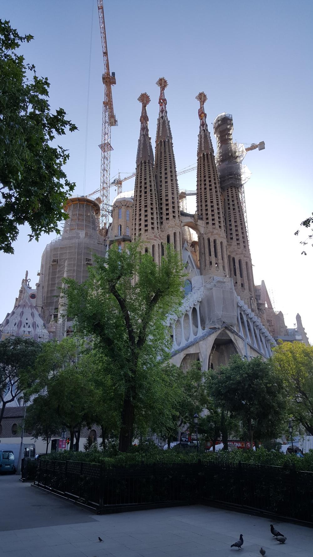 Sagrada Familia Barcellona Spagna
