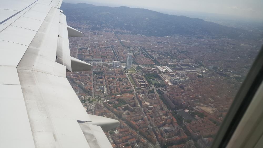 Ritorno a Torino da Barcellona Spagna