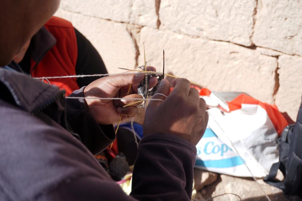 tradizioni-artigianato-cactus-Cile-lavoro a maglia-America del Sud-viaggio di nozze