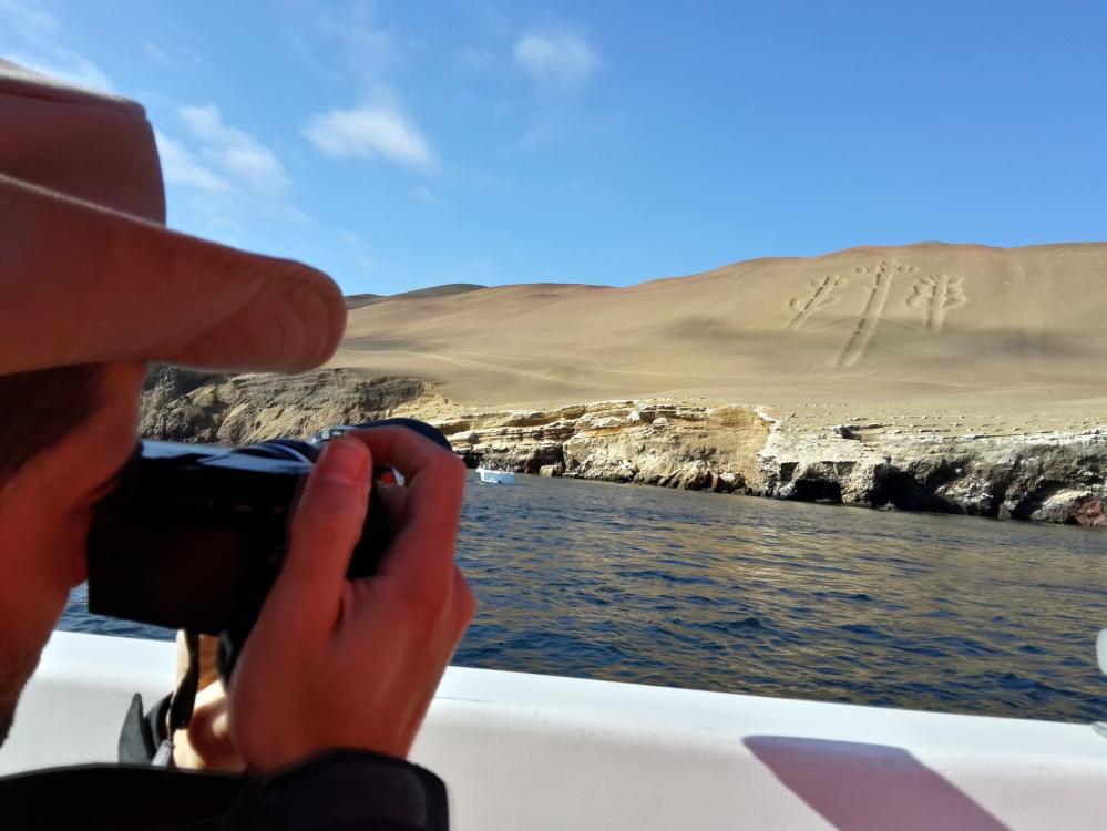 Candelabro-Paracas-Linee di Nasca-Oceano Pacifico-America Latina-Perù