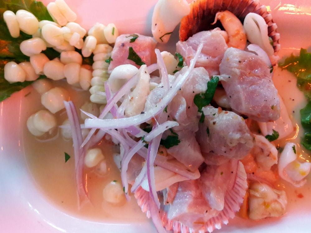 Ceviche-pesce-gastronomia peruviana-cibo tipico peruviano-Perù-America del Sud