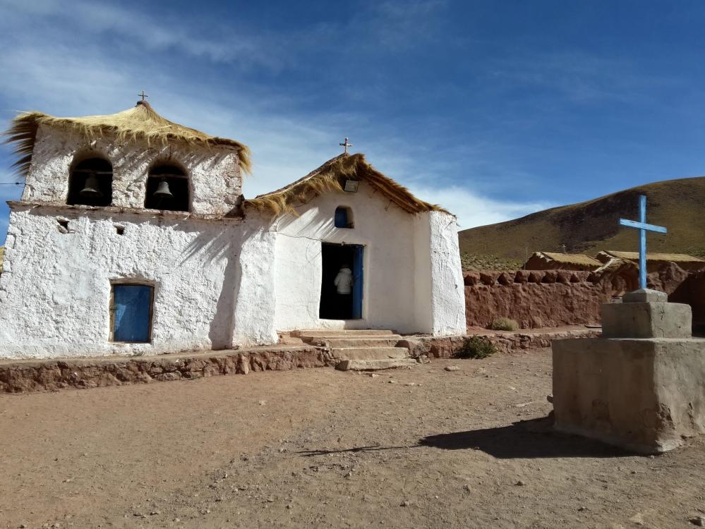 chiesa-villaggio machuco-Cile-America Latina