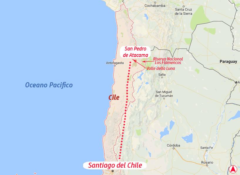 Cile-Sud America-America Latina-tappe viaggio di nozze
