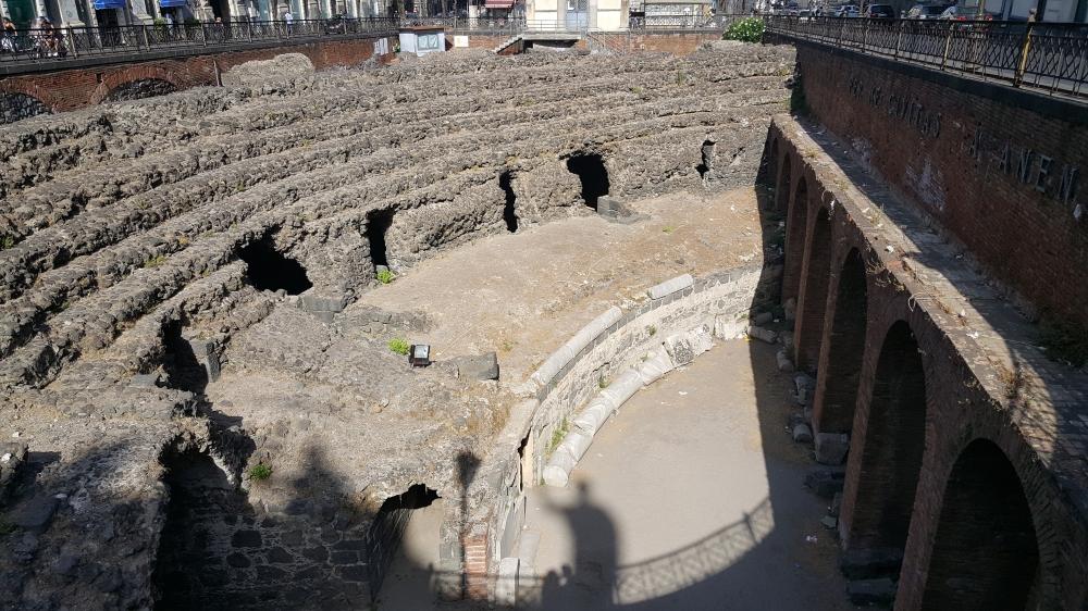 Anfiteatro romano-Archeologia-Catania-Sicilia