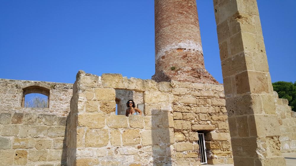 Spiaggia di Vendicari-Resti Archeologici-Tonnara-Sicilia
