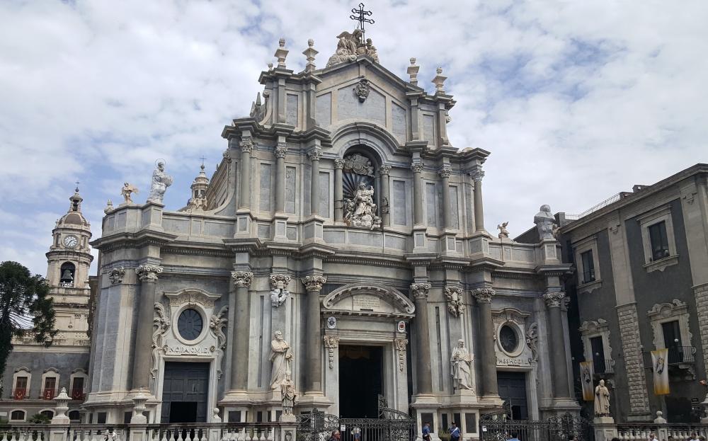 Cattedrale di sant'Agata-Catania-Architettura barocca-Sicilia