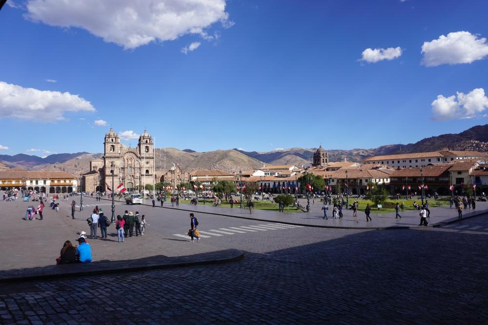 Piazza-Plaza de Armas-Cusco-Inca-Architettura-Perù-Sud America-viaggio di nozze