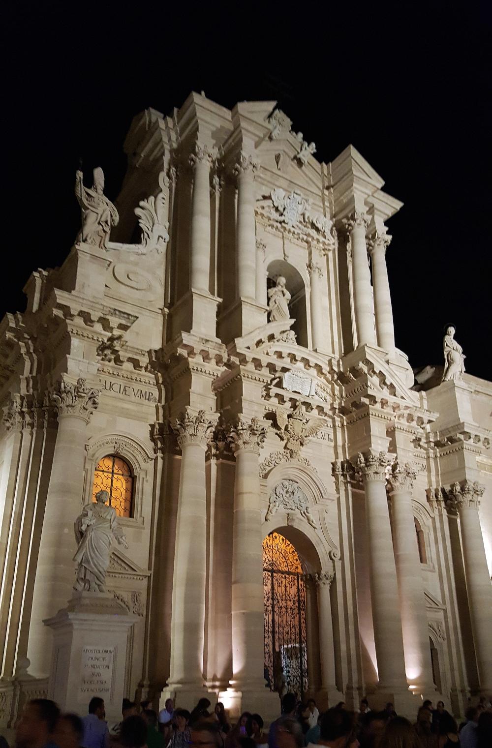 Duomo di Siracusa-Ortigia-Barocco-Siracusa-Architettura-Sicilia
