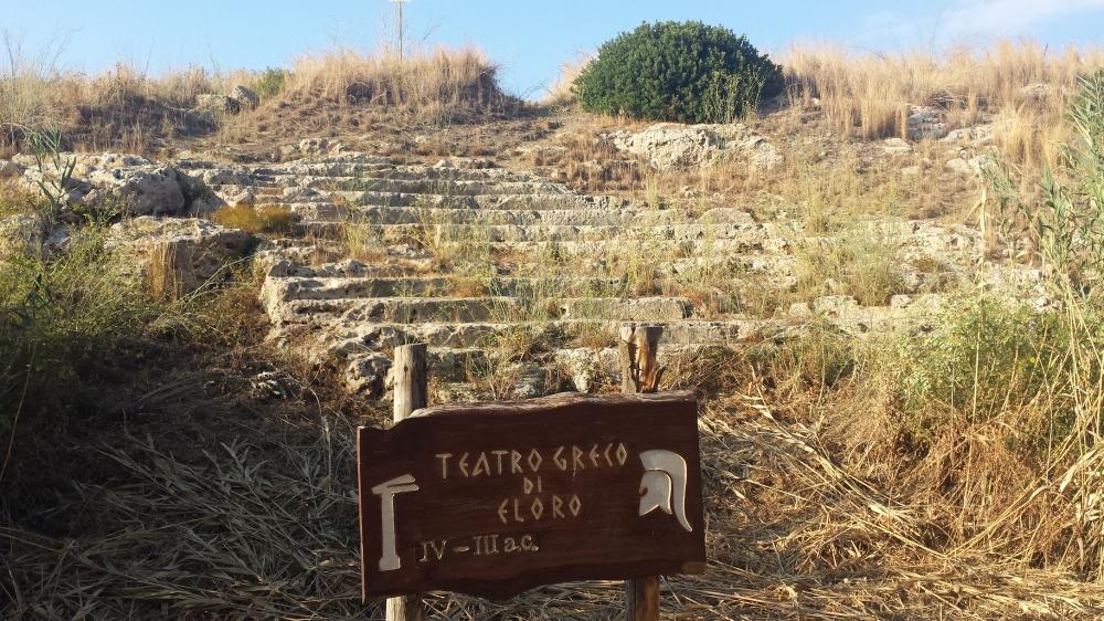 Archeologia-Teatro greco di Eloro-Riserva di Vendicari-Eloro-Sicilia
