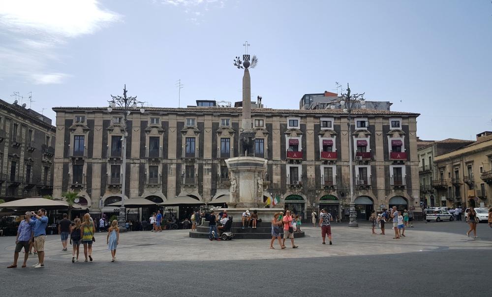 Fontana dell'Elefante-Catania-Centro storico di Catania-Sicilia