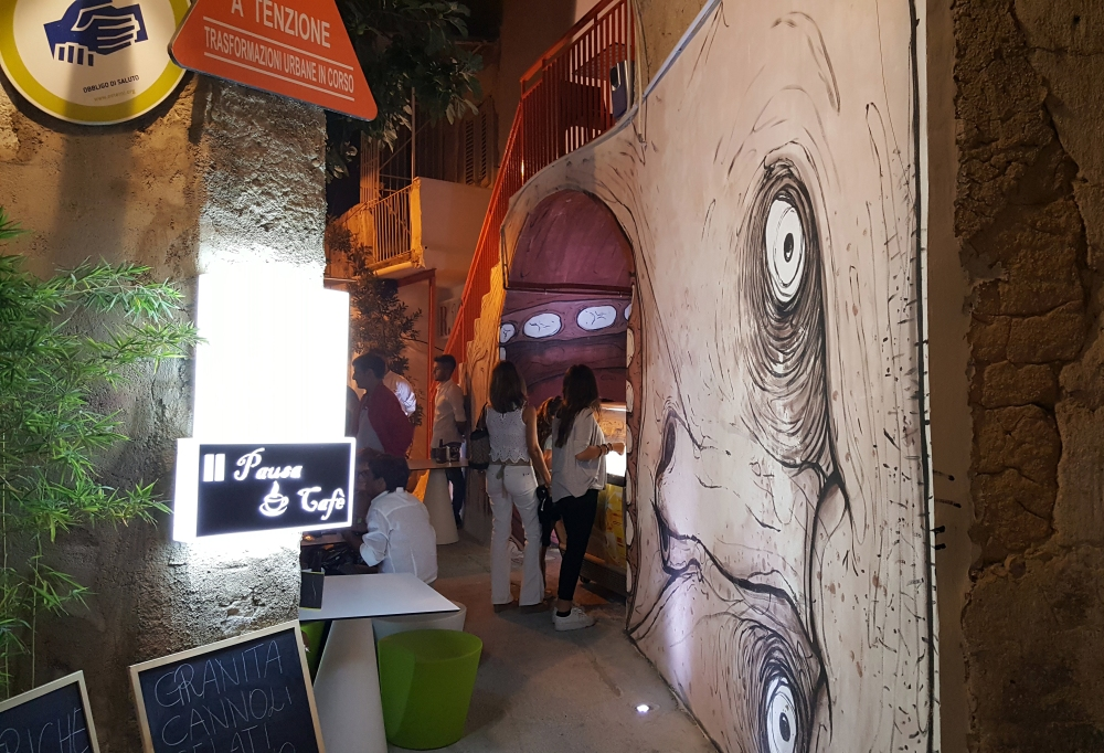 Murales-Arte contemporanea-Favara-Sicilia