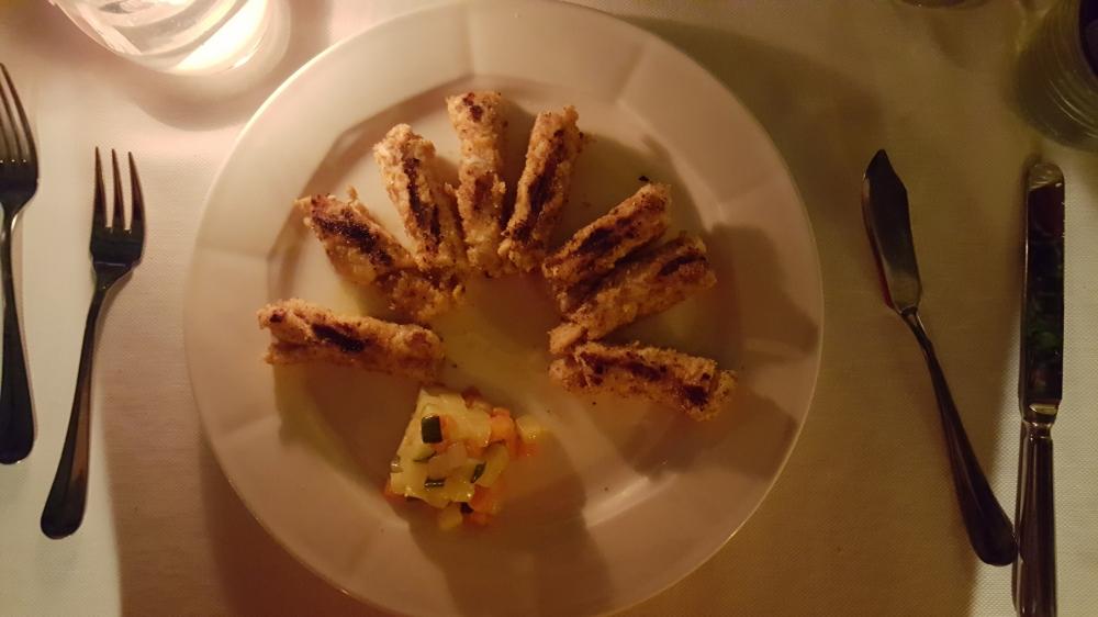 Involtini di pesce spada-Ristorante La Dracena-Taormina-Sicilia-Italia