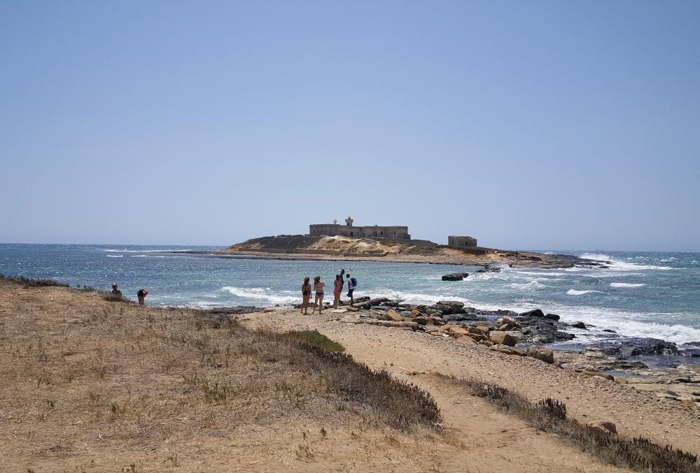 Faro-Isola delle Correnti-Portopalo di Capo Passero-Siracusa-Sicilia-Italia