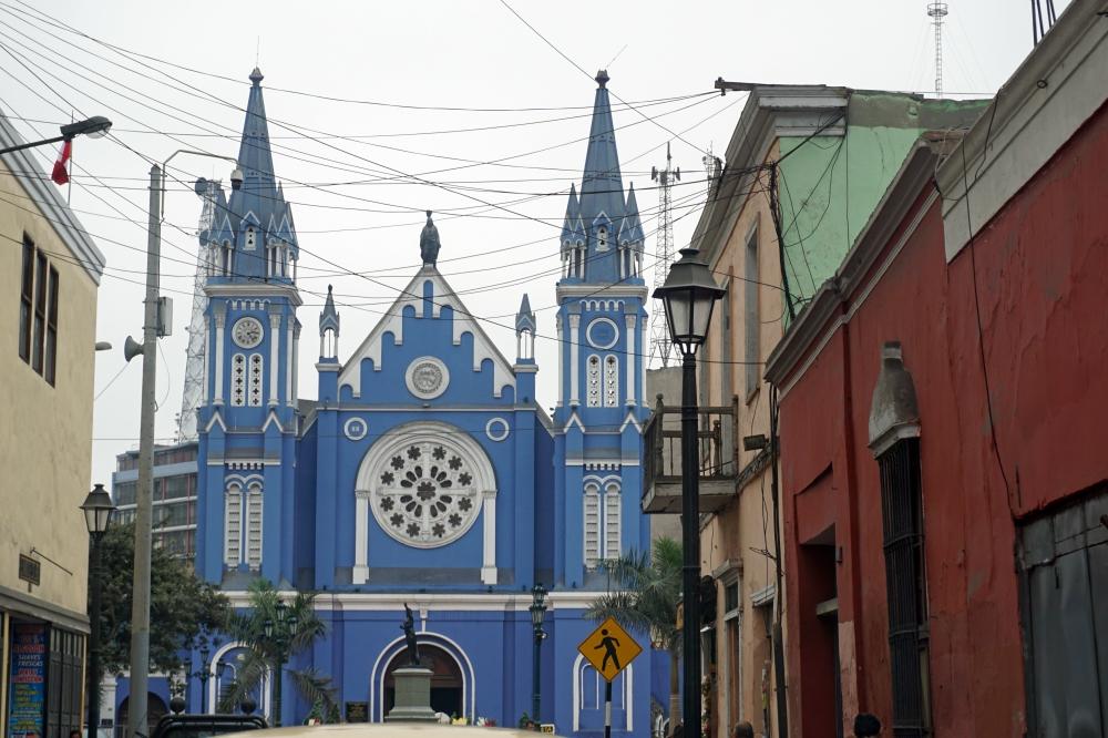 chiesa-Lima-Architettura coloniale-Perù-Sud America-viaggio