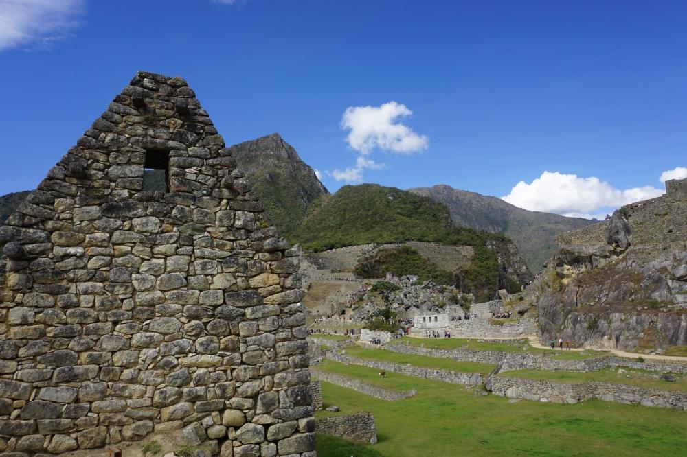 Archeologia-Architettura inca-Machu Picchu-Ande-Perù-Sud America