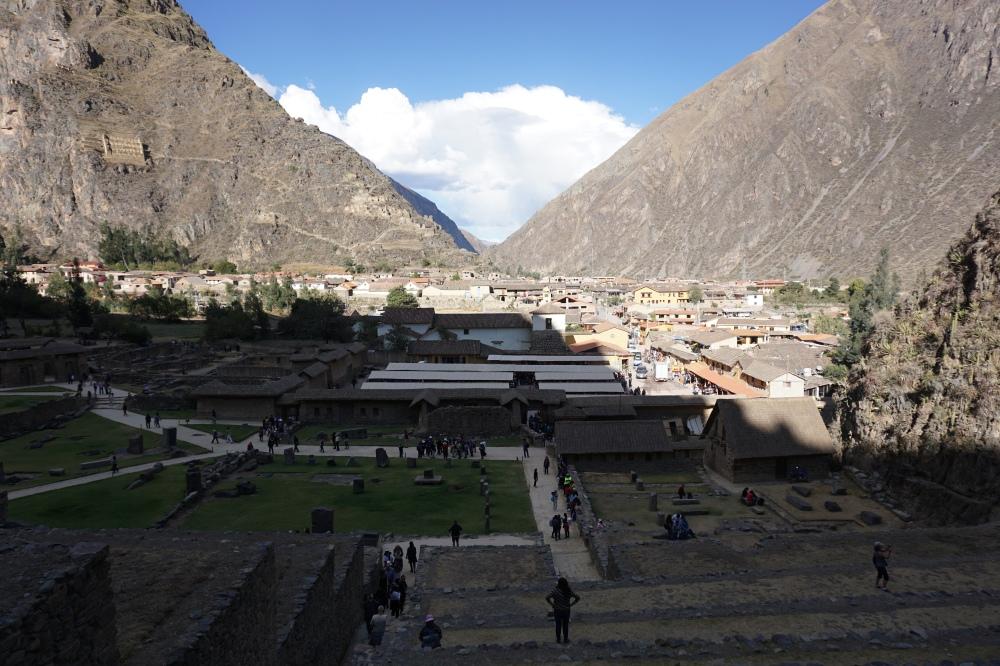 Ollantaytambo-archeologia-valle sacra-Tempio del Sole-Cordigliera delle Ande-Perù-Sud America