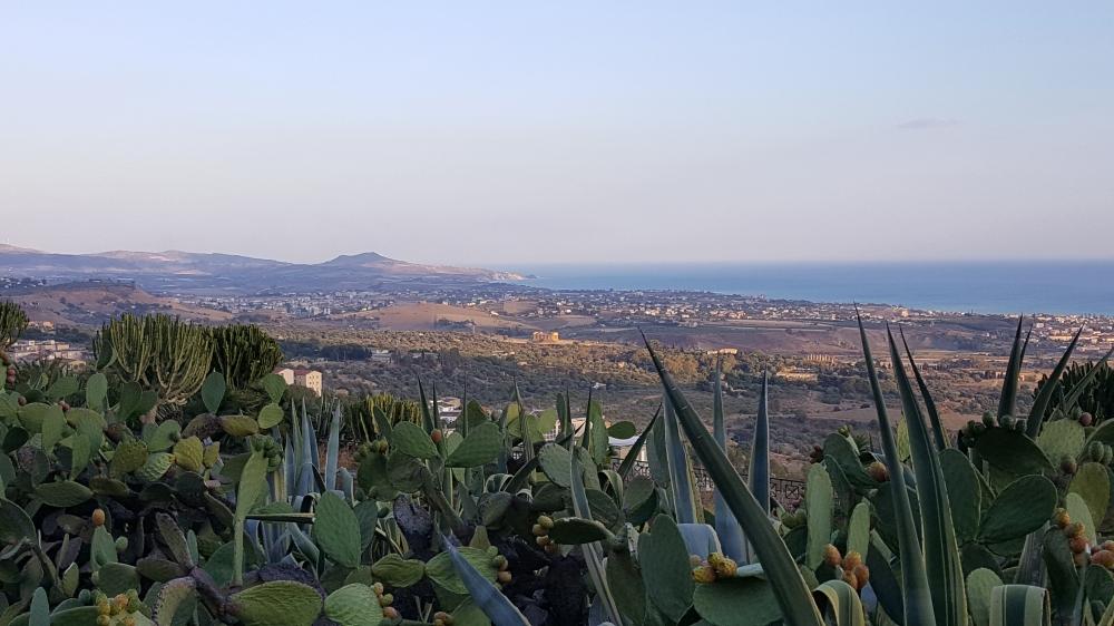 Panorama-Agrigento-Valle dei Templi-Sicilia