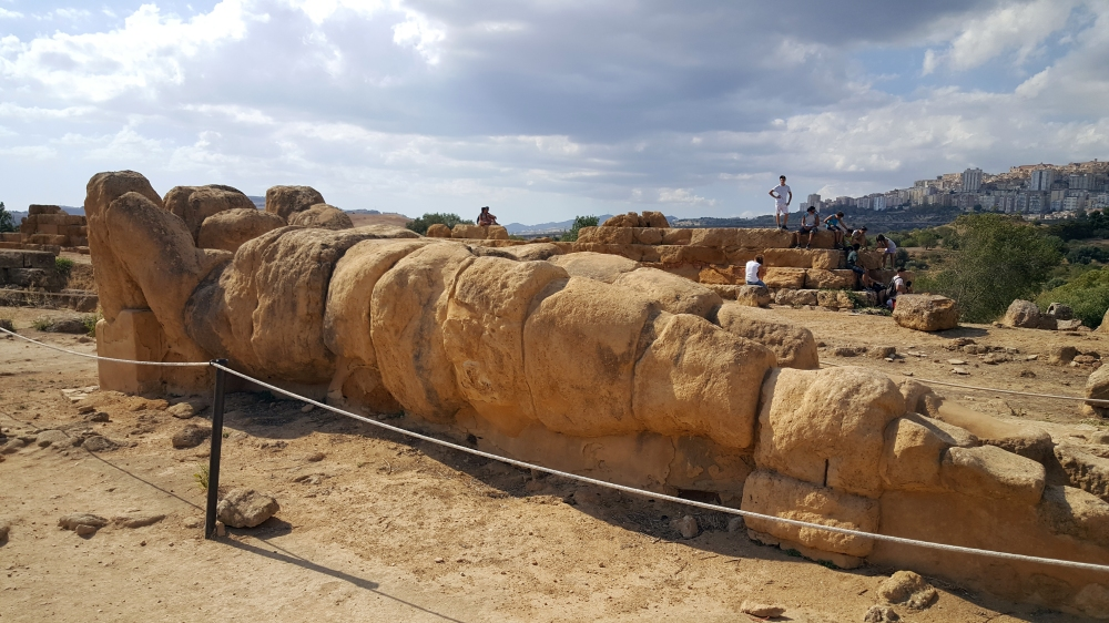 Telamone-Resti archeologici-Valle dei Templi-Sicilia-Italia