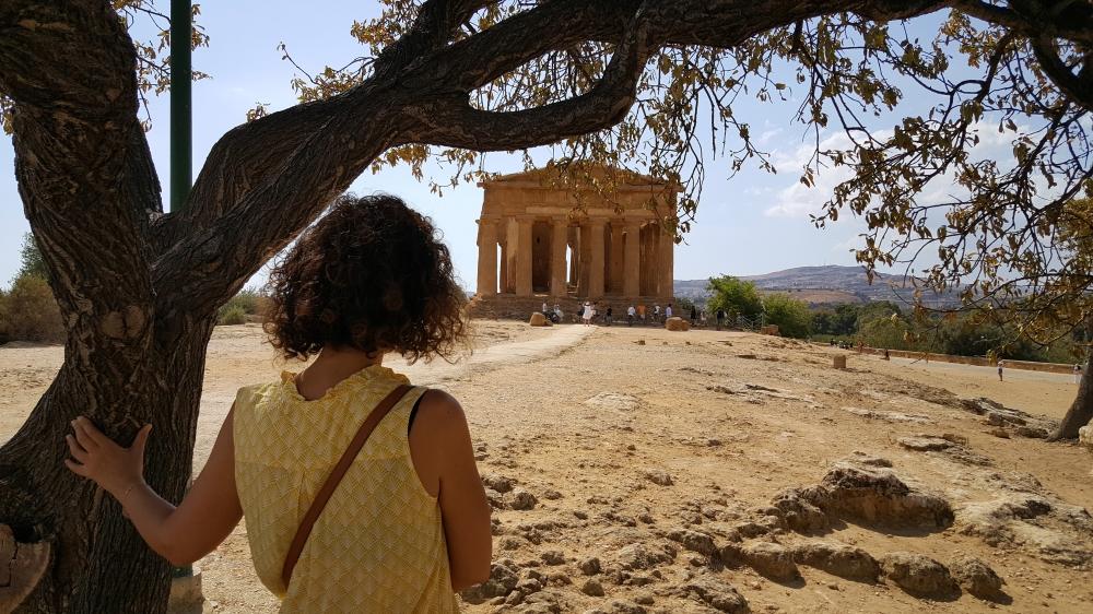 Tempio della Concordia-Valle dei Templi-Agrigento-Sicilia