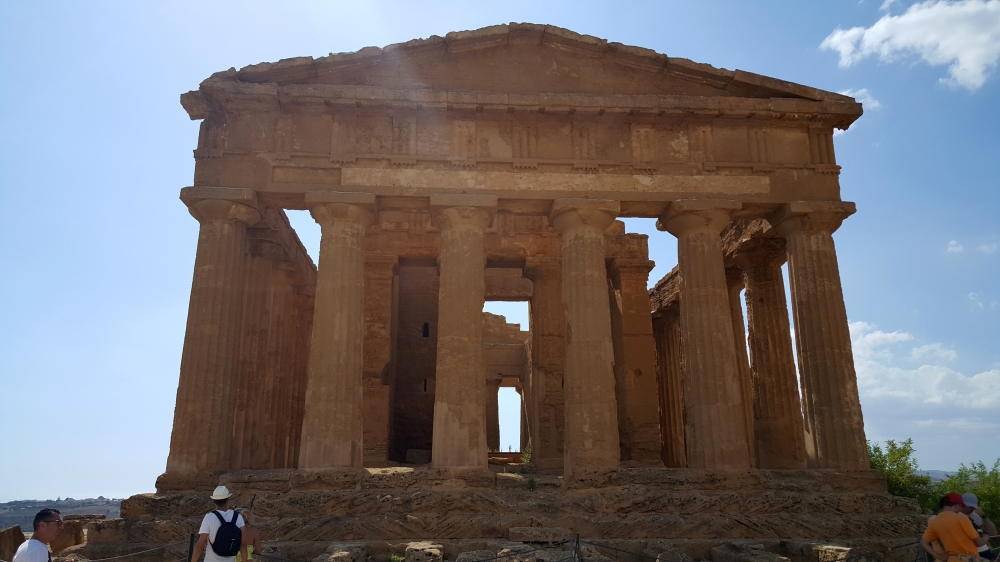 Tempio della Concordia_Parco Archeologico_Valle dei Templi-Agrigento-Italia