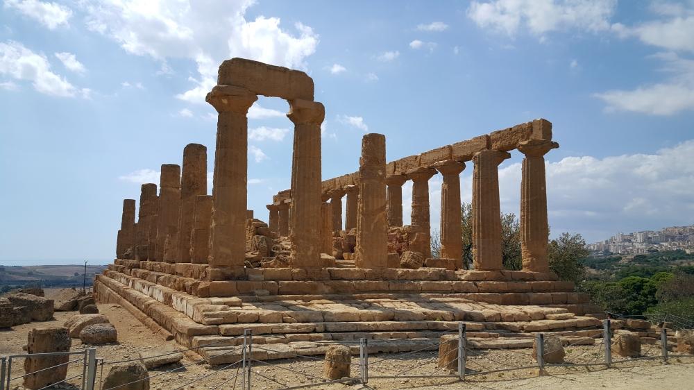 Tempio di Giunone-Tempio di Hera Lacinia-Valle dei Templi-Agrigento-Sicilia