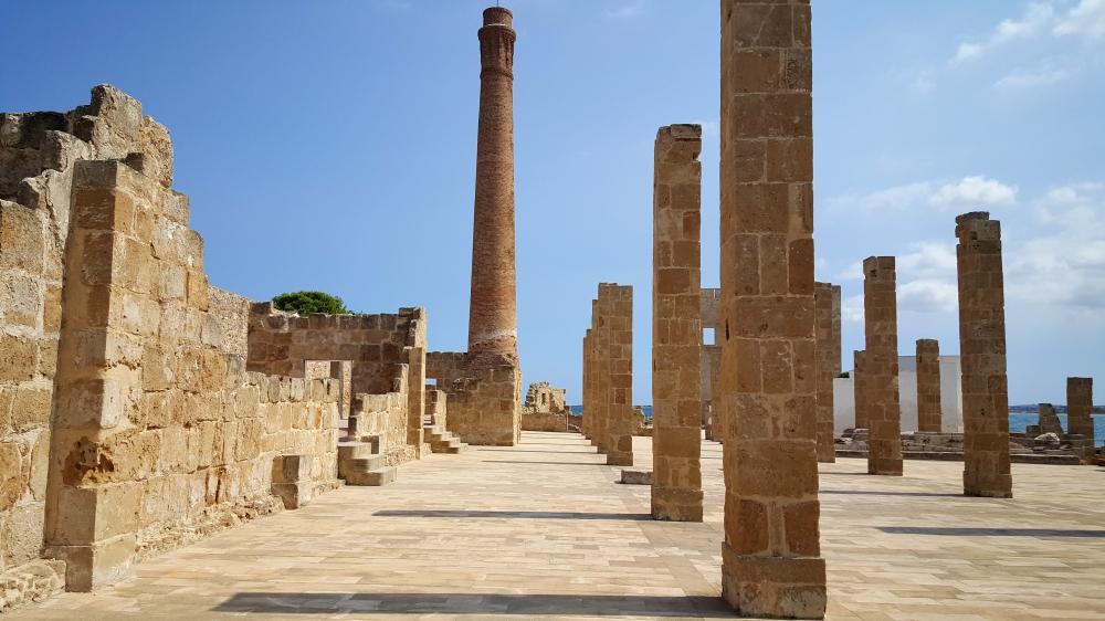 Tonnara-colonne-resti archeologici-Vendicari-Sicilia