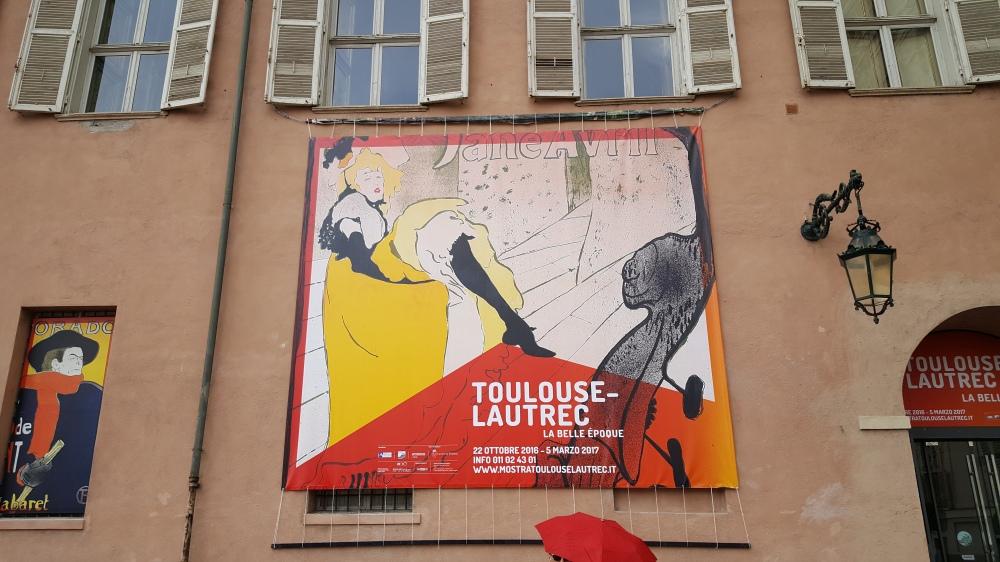 Torino-Palazzo Chiablese-Mostra Toulouse Lautrec-belle époque-Parigi