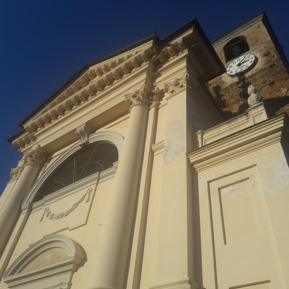Chiesa-Campanile-Centro storico-Fiano-Torino-Piemonte-Pranzo di Capodanno-Buon anno nuovo-2017