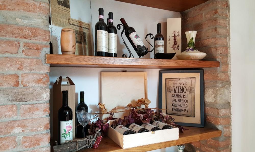 Cantina Cà Neuva-Bottiglie di vino-Degustazione vini-Langhe