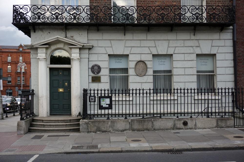 Dublino-Irlanda-Oscar Wilde-Architettura-Casa di Oscar Wilde-Viaggiare