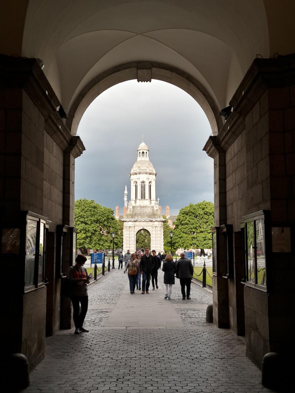 Dublino-Irlanda-Viaggio a Dublino-Trinity College-Architettura-College-Città europea