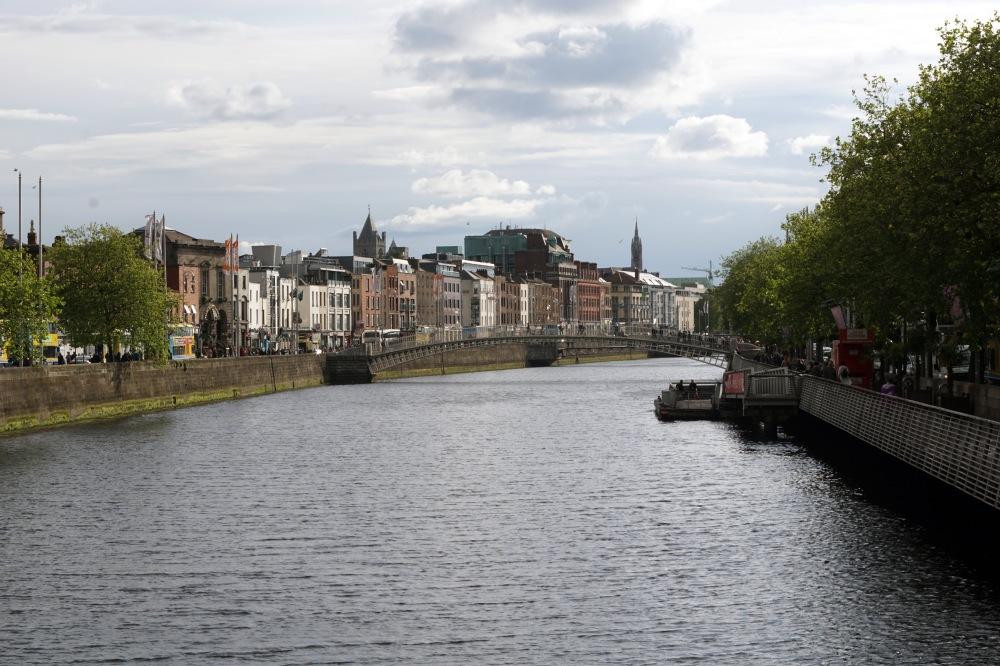 Dublino-Centro storico-Irlanda-fiume-Viaggio