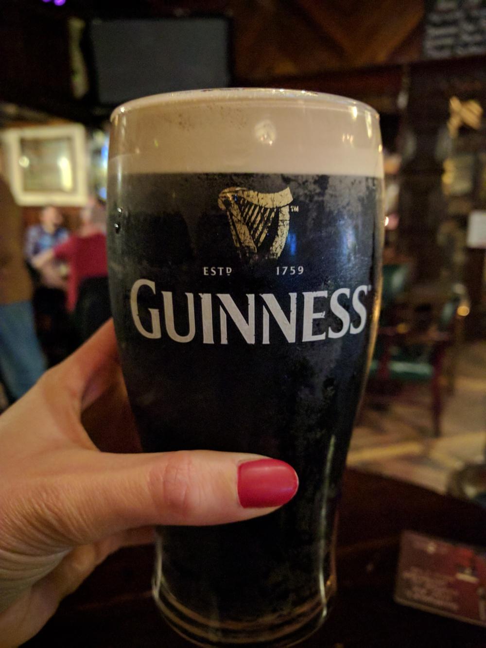 Guinness-Pinta di Guinness-Birra-Dublino-Irlanda-Nancy Hands Pub-Pub